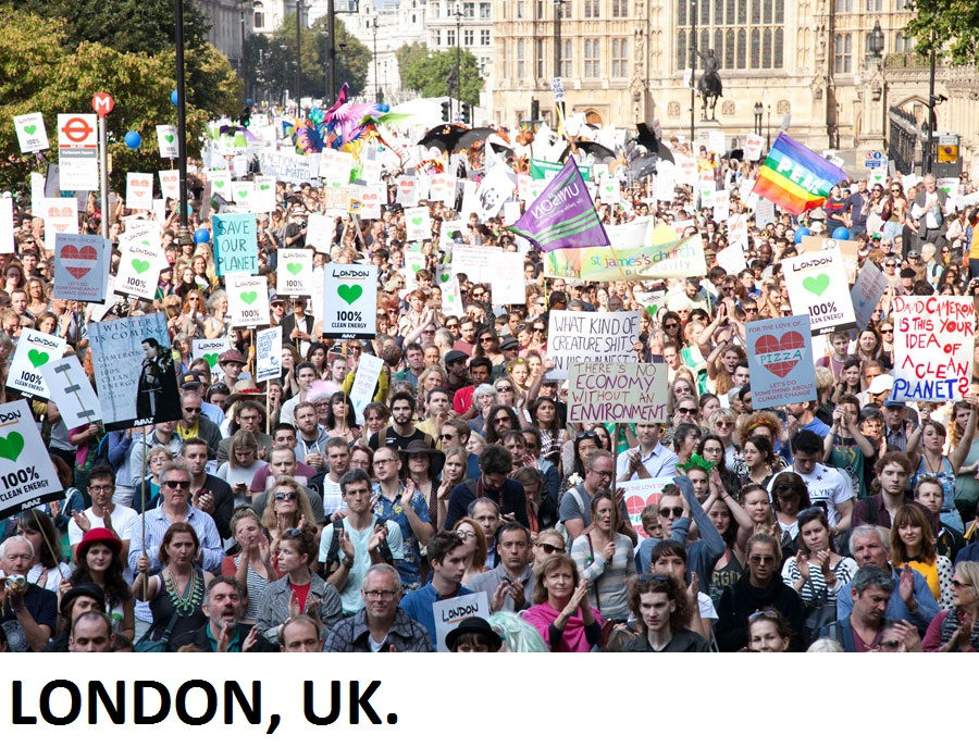 Largest mobilisation on climate change by Avaaz