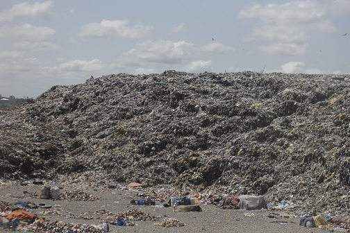 waste mountain
