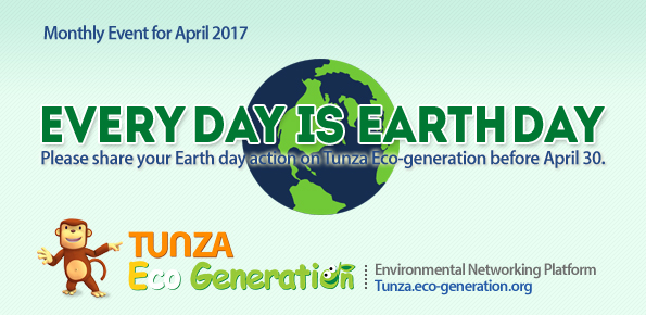 Every day is Earth Day event 2017