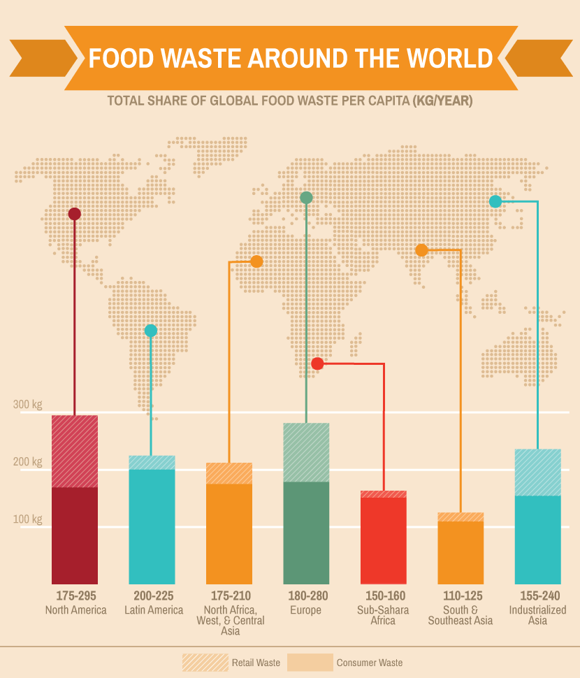 Brazil food waste issue ambassador report our for Around the world cuisine