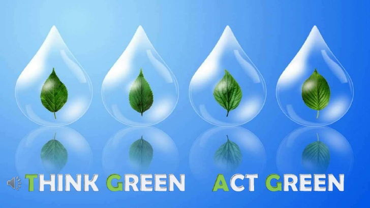 THINK GREEN, ACT GREEN, LIVE GREEN