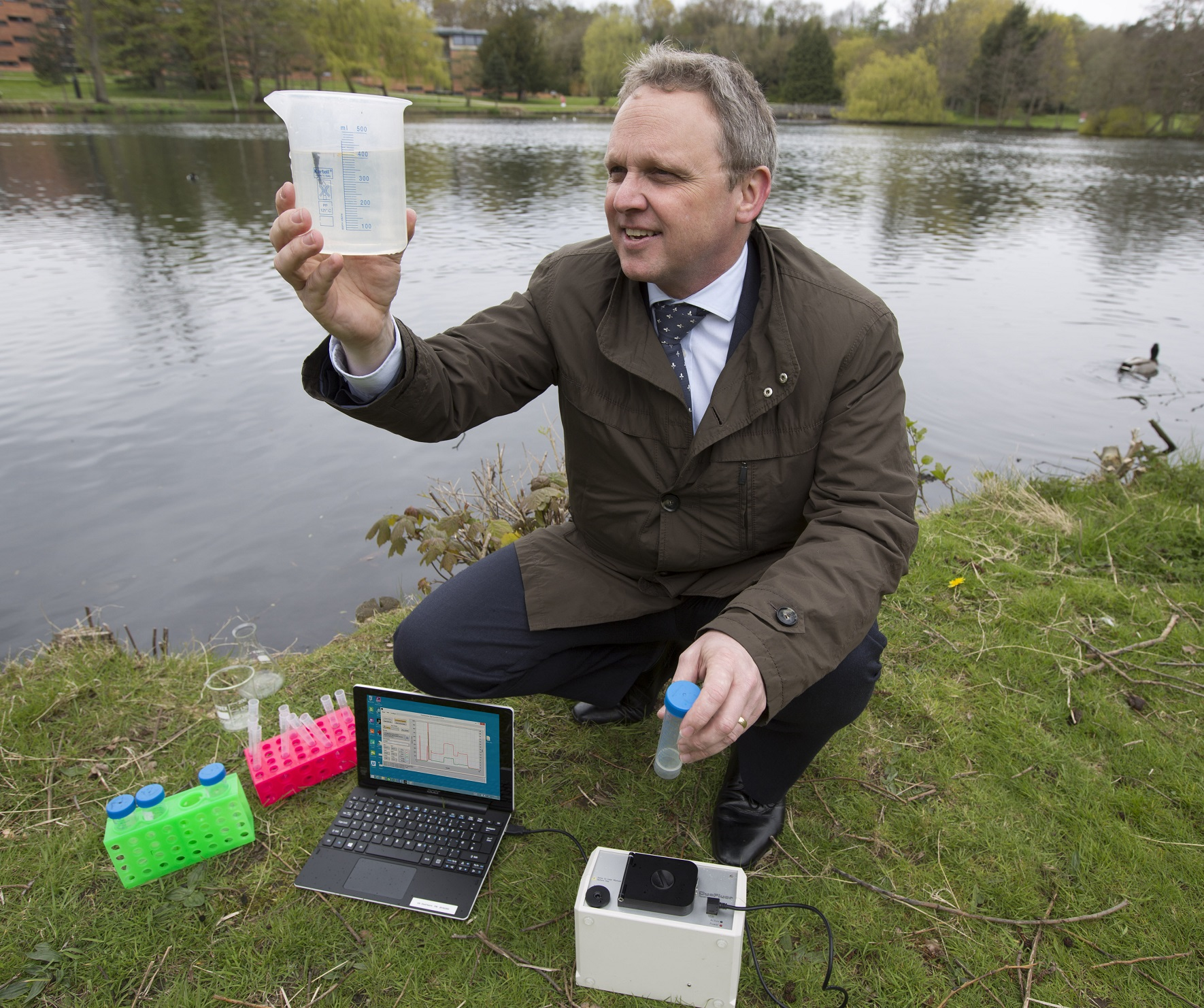 Birmingham water experts develop water testing device to save lives