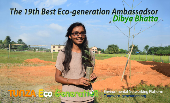 19th best ambassador is Dibya bhatta from Neapl.