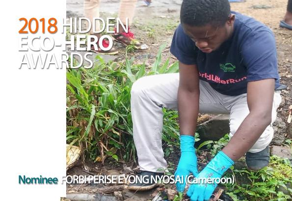 2018 Hidden Eco-Hero Awards Nominee - Forbi Perise