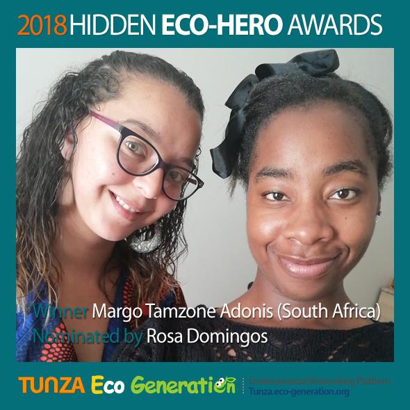 2018 Hidden Eco-Hero Awards Winner - Margo