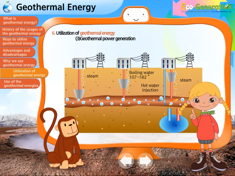 utilization of geothermal energy