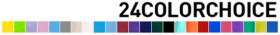 24 Color choice set