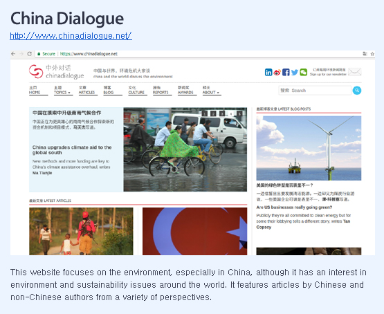 China dialogue