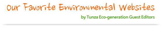 2017 Our Favorite Environmental Websites