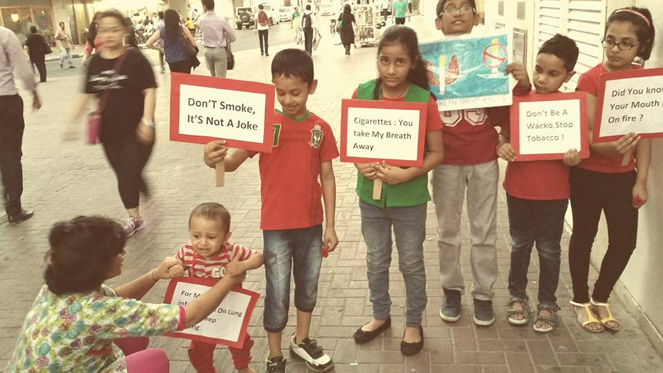 world no tobacco day celebrted by pranil and his friends