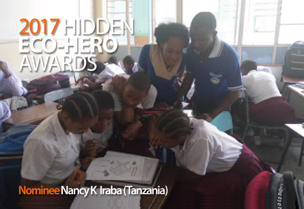 2017 Hidden Eco-Hero Awards Nominee - Nancy