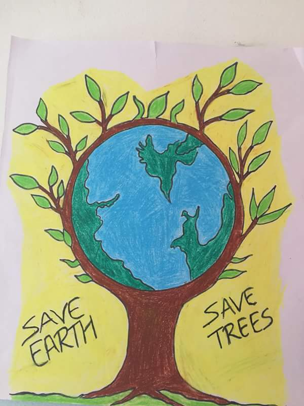 Save Tree Drawing Pictures