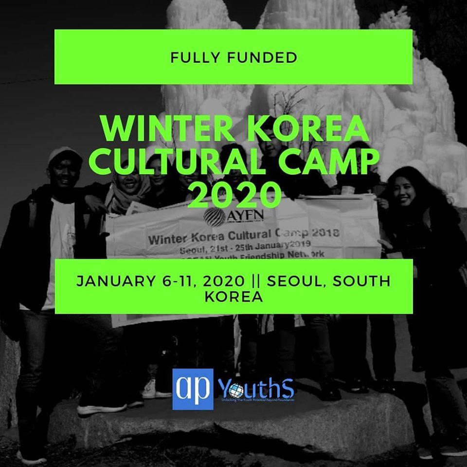 winter korea cultural camp 2020 opportunities our. Black Bedroom Furniture Sets. Home Design Ideas