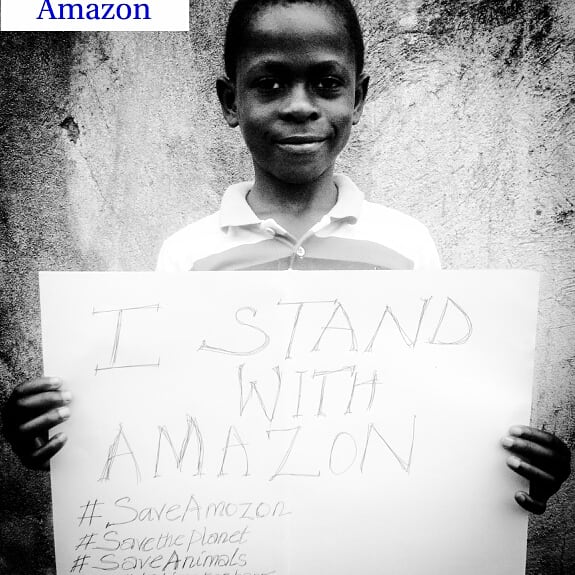 We stand with Amazon