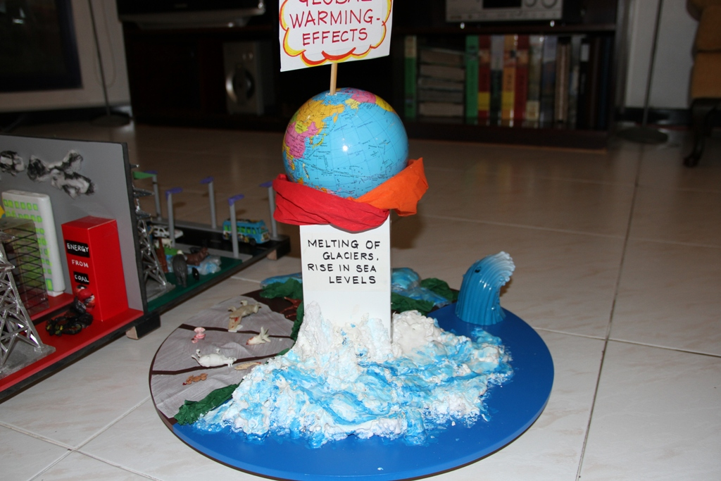 Model On Global Warming World Report Our Actions
