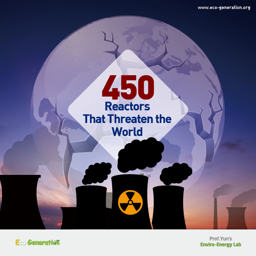 450 Reactors that threaten the world