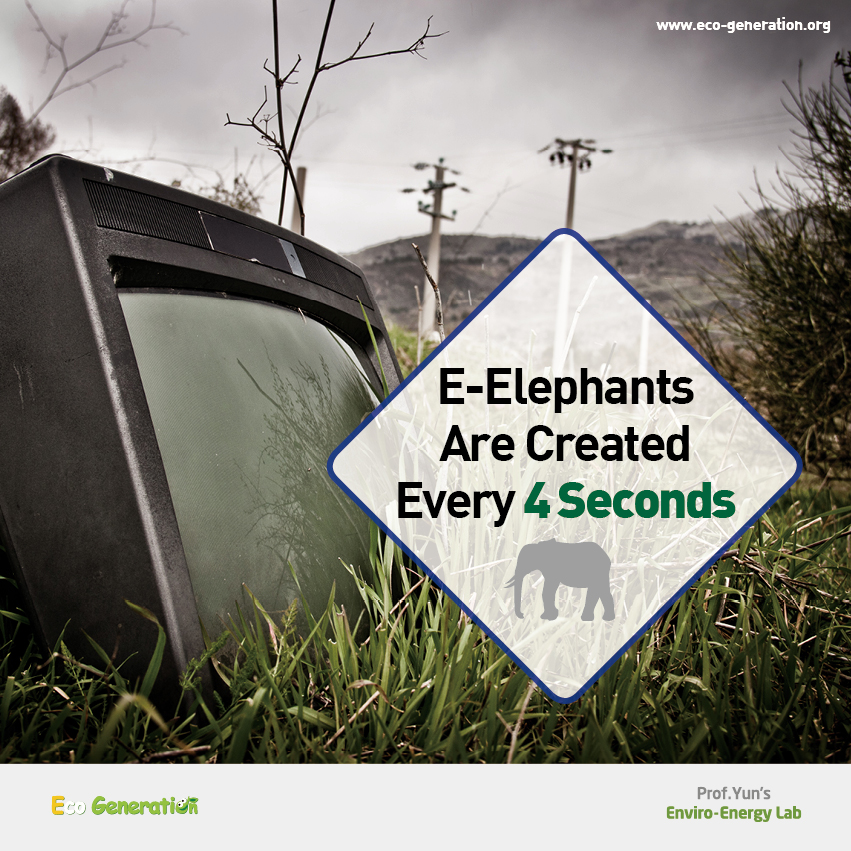 E-Elephants are created every 4 seconds.