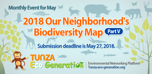 Monthly Event for April - Our Neighbodhood's Biodiversity Map