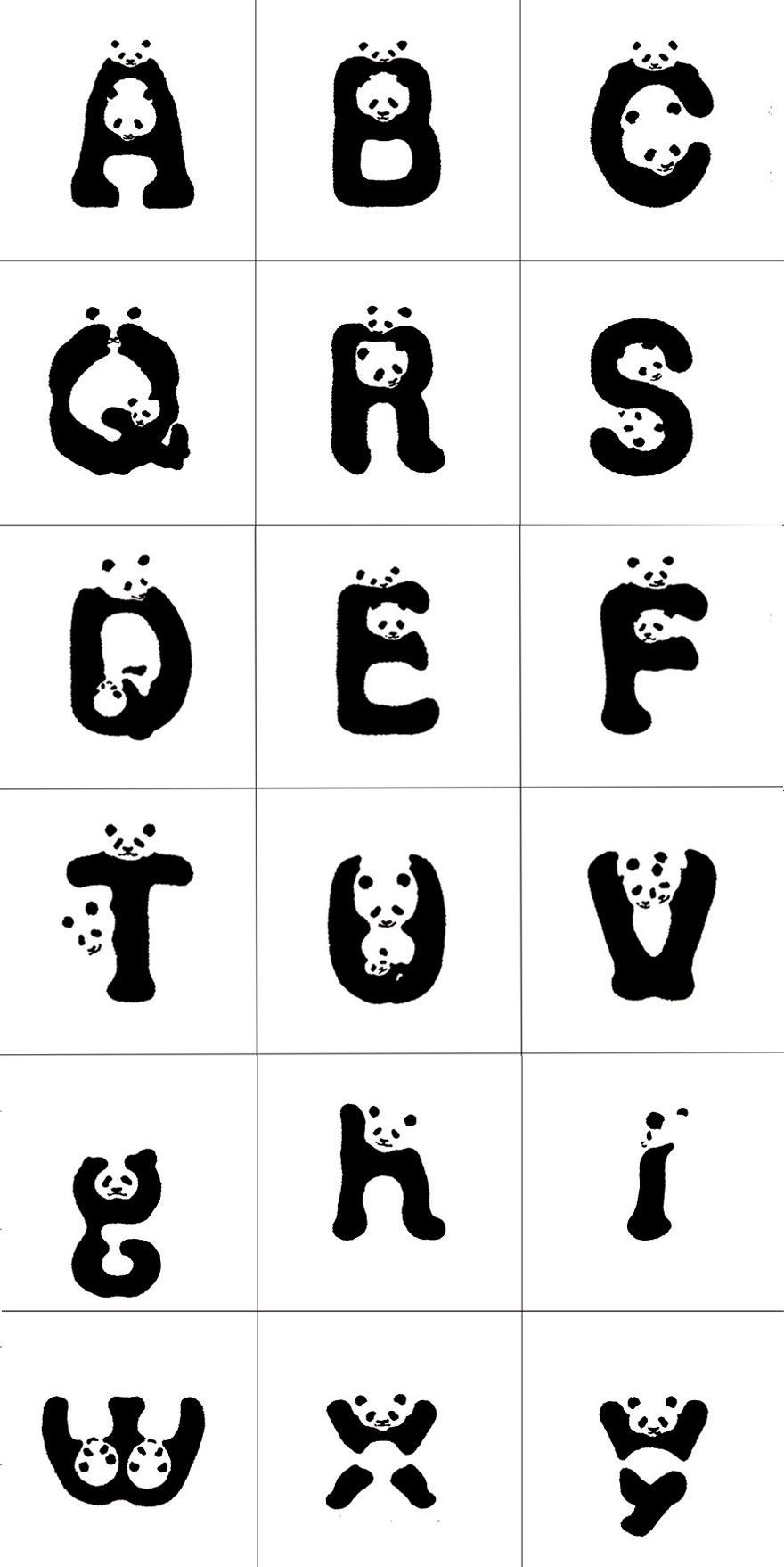 wwf japan creates panda font world report our actions tunza