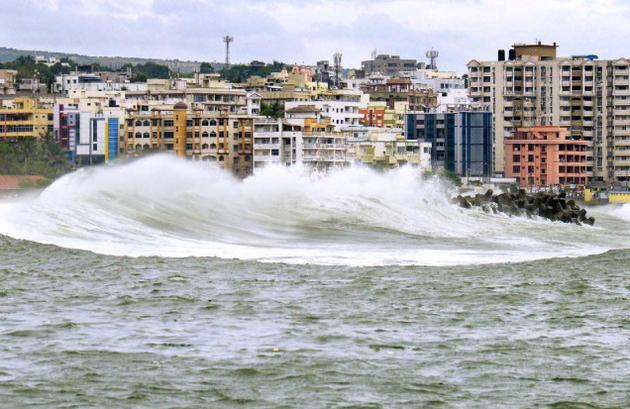 hudhuda dreadful cyclone washes away the city of nature