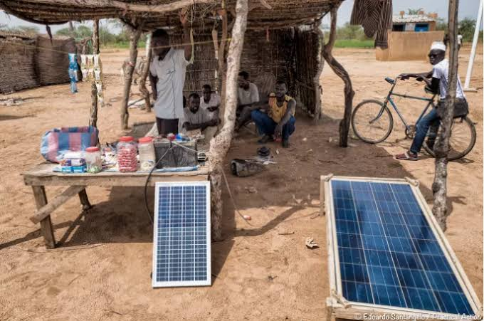 Renewable energy for Refugees by practical action