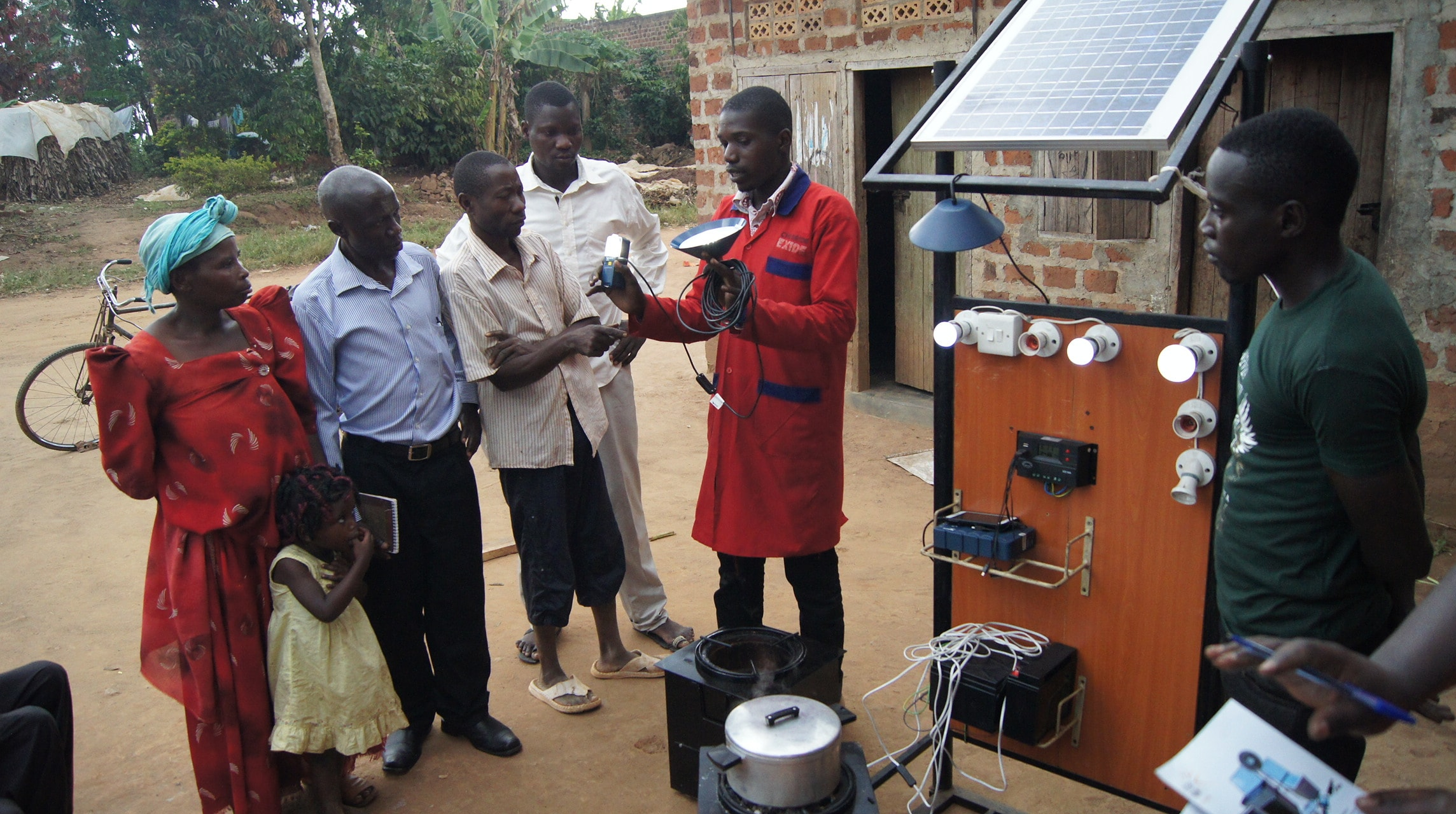 SOLAR AIDED COOK STOVES SAVING MORE IN UGANDA