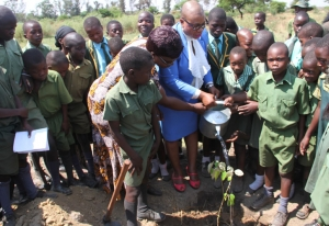 Tree planting day at schools