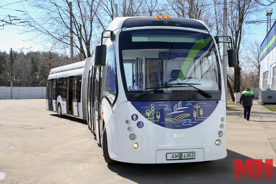 electric bus in Tashkent